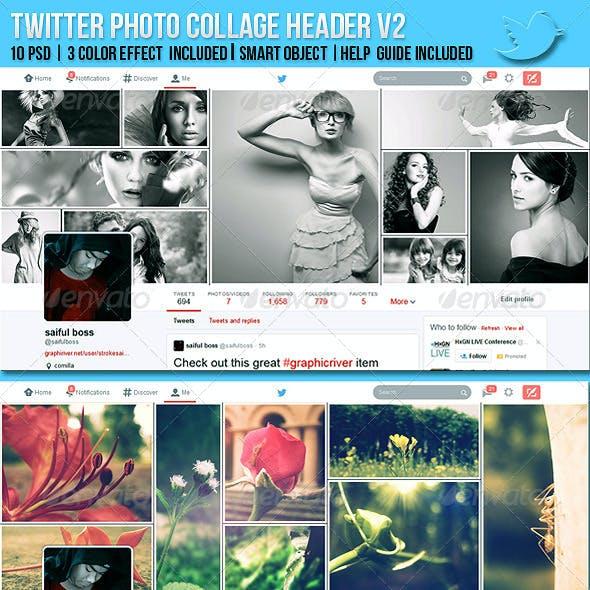 Twitter Photo Collage Header V2