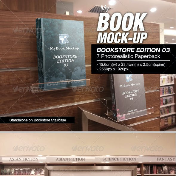 Bookstore Edition 03 Mock-up