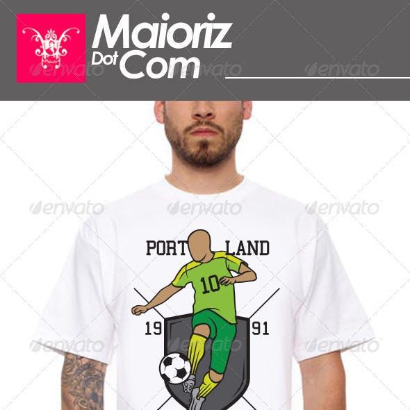 Soccer Team Tshirt