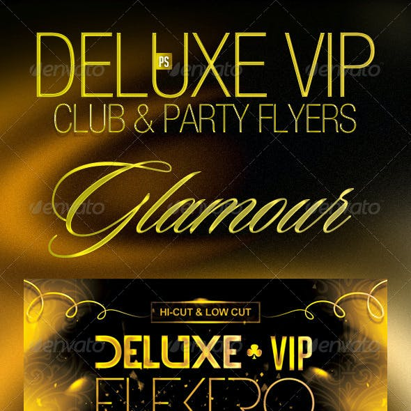 Deluxe VIP Club Party Flyer