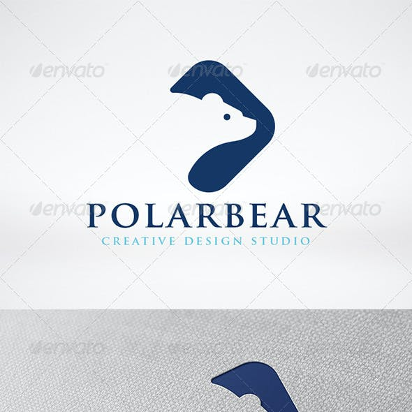 Polar Bear Logo Template