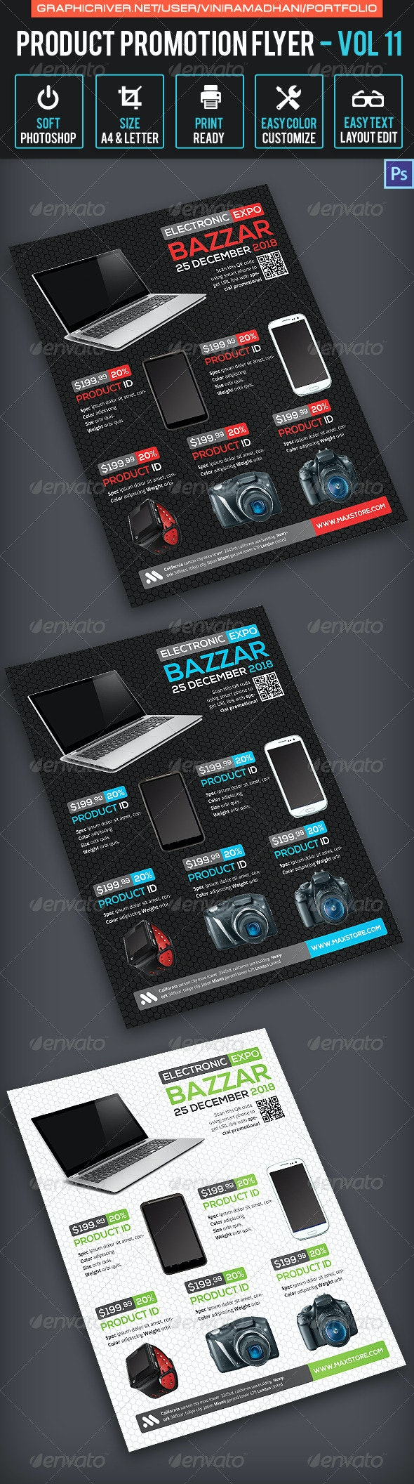 Product Promotion Flyer Volume 11 - Commerce Flyers
