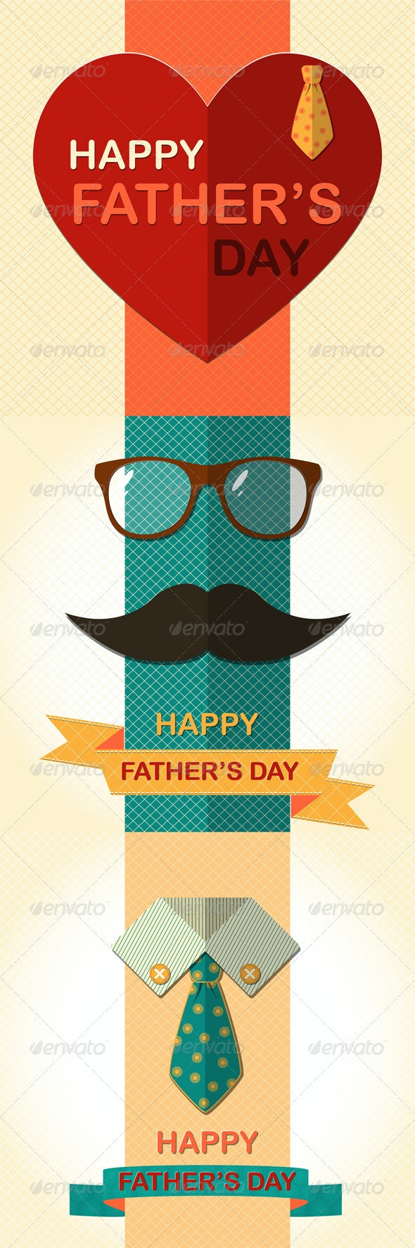 Father's Day Greetings Cards - Seasons/Holidays Conceptual