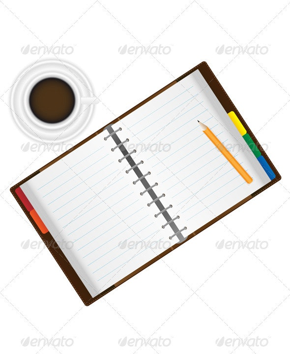 Organizer and Coffee - Man-made Objects Objects