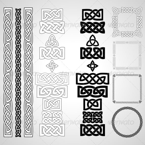 Celtic Knots, Patterns & Frames