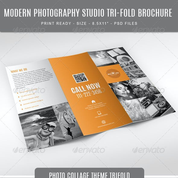 Photography Studio Tri-Fold
