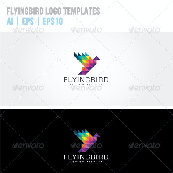 Flying Bird Logo Templates
