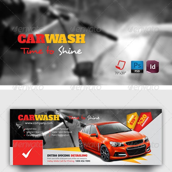 Car Wash Timeline Templates