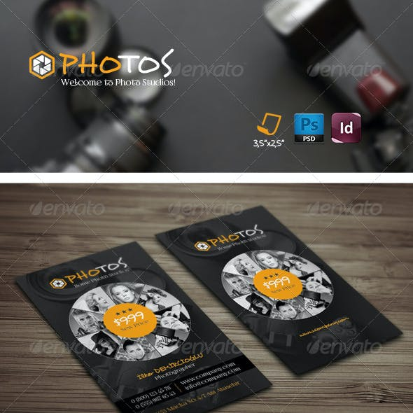 Photography Business Card Templates