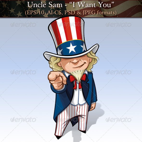 "Uncle Sam - ""I Want You"""