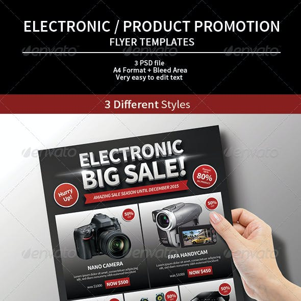 Electronic / Product Promotion Flyer