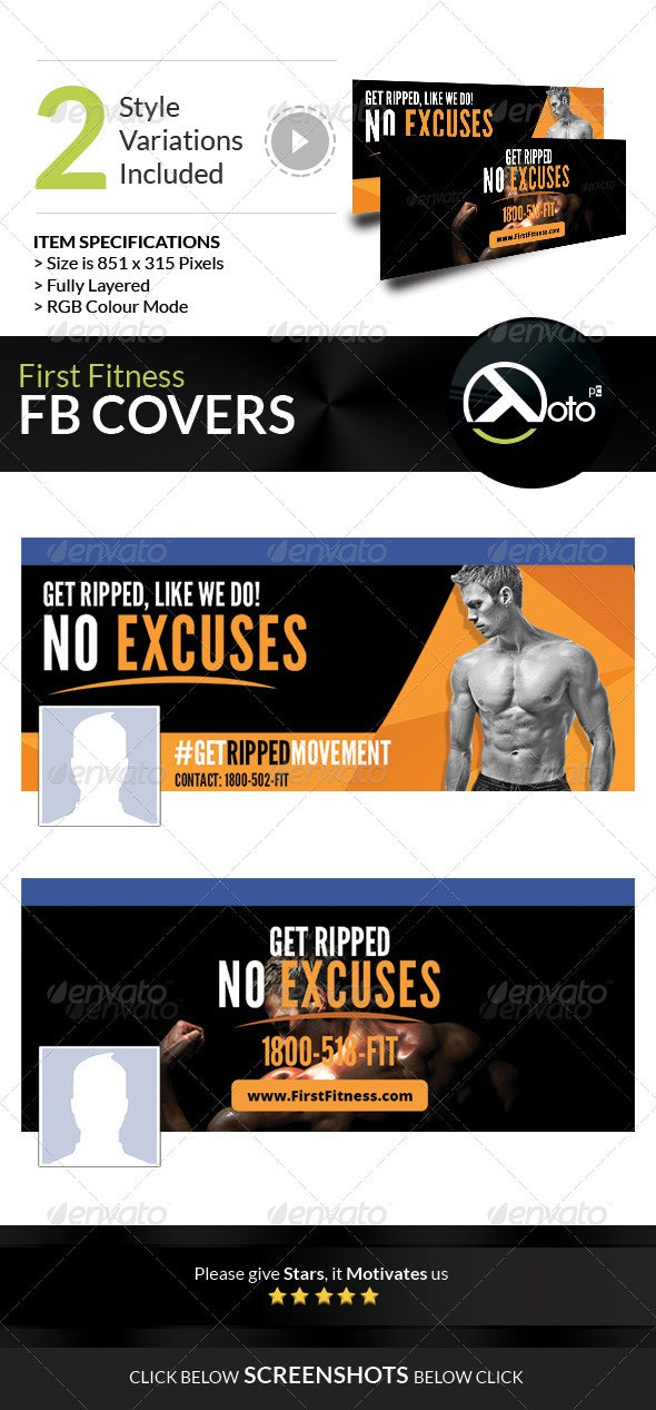 First Fitness Body Weight Training FB Covers - Facebook Timeline Covers Social Media