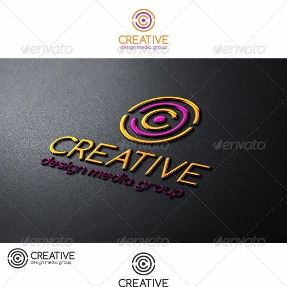 Creative Circles C Letter Logo