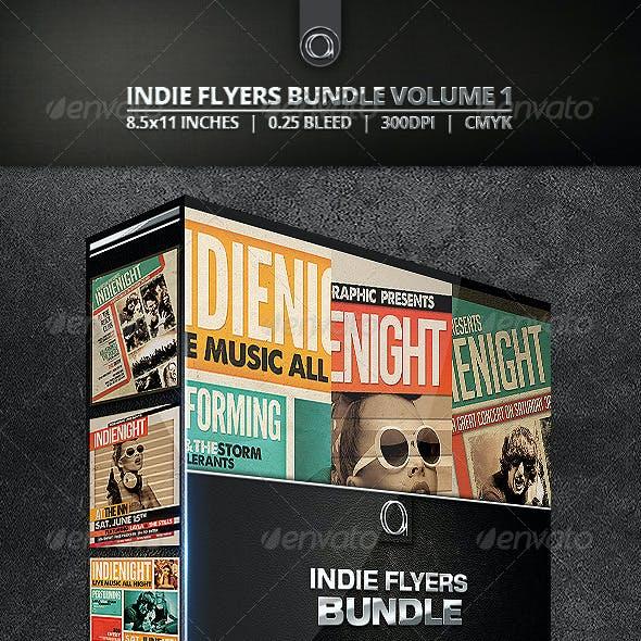 Indie Flyers Bundle Volume 1
