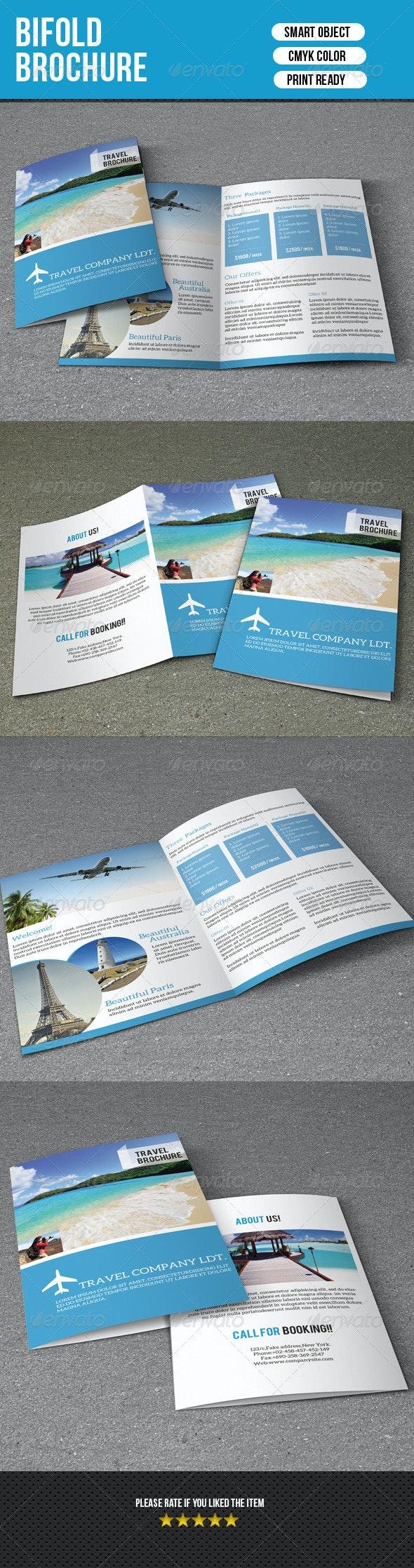 Bifold Travel Brochure - Corporate Brochures