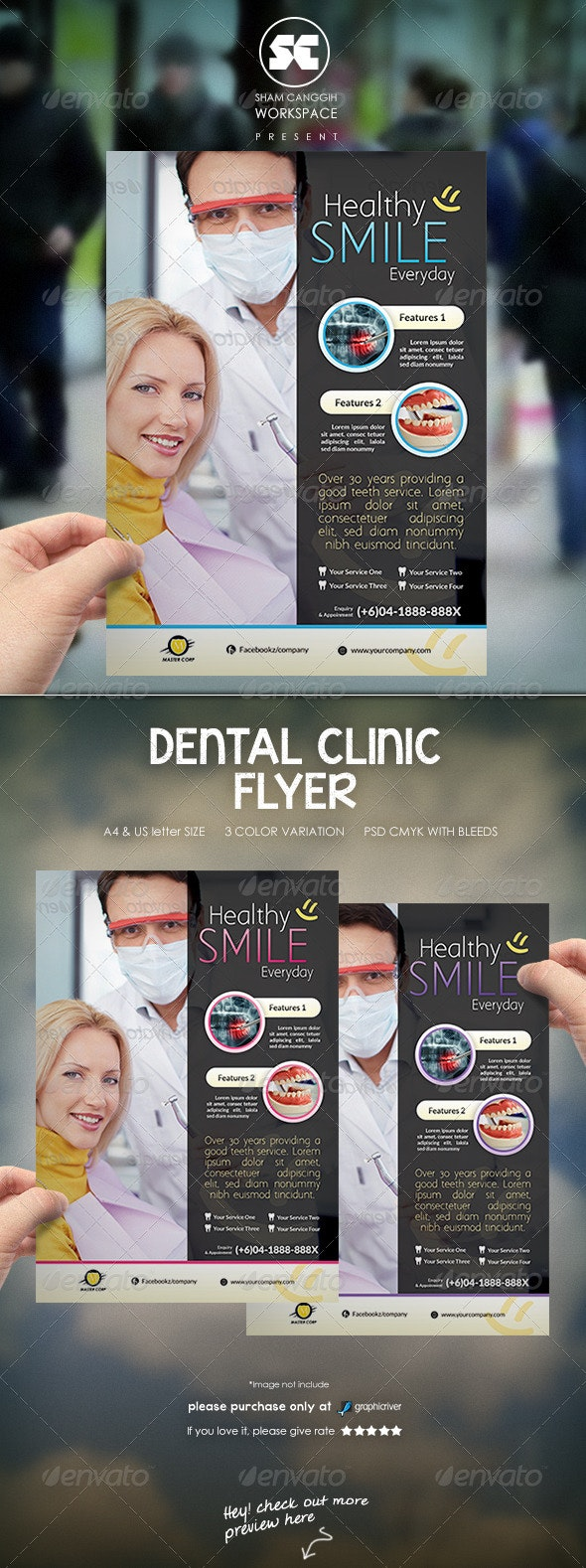 Dental Flyer / Magazine Ads - Miscellaneous Events