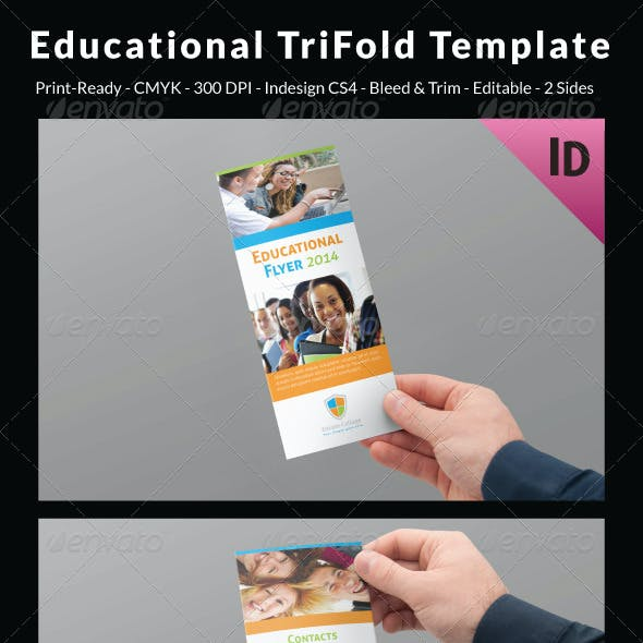 Educational Trifold Template