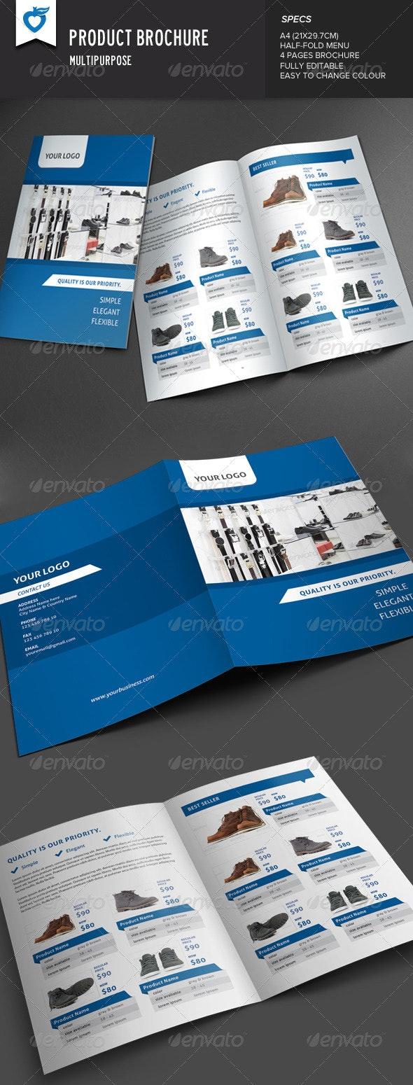 Product Brochure - Brochures Print Templates