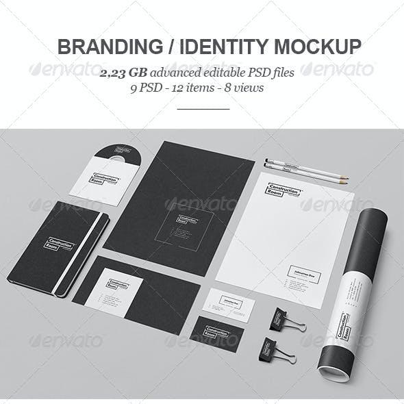 Branding / Identity Mock-up 5