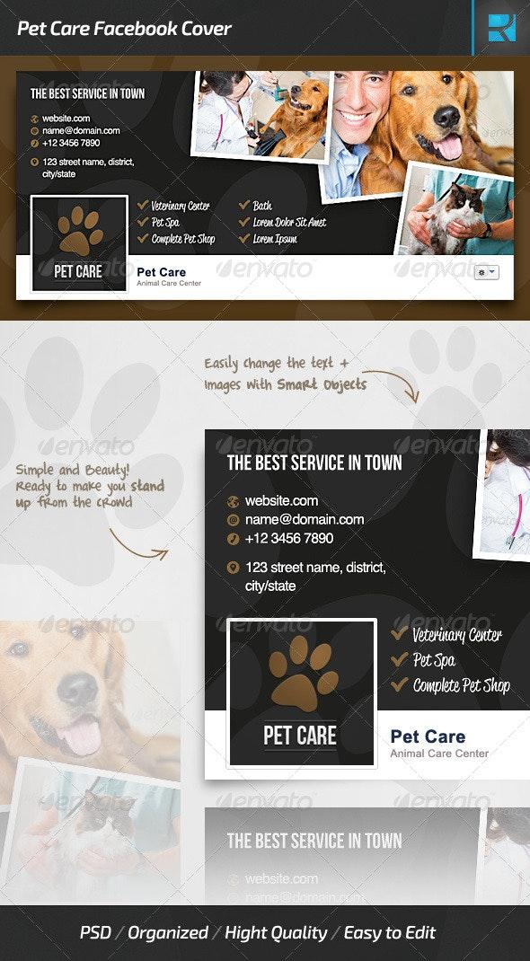 Pet Care Facebook Cover - Facebook Timeline Covers Social Media
