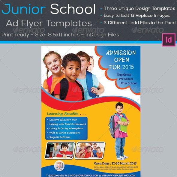Junior School Promotion Flyers