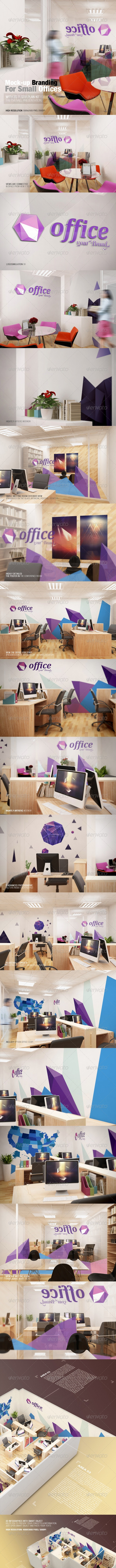 Mockup Branding For Small Offices - Logo Product Mock-Ups