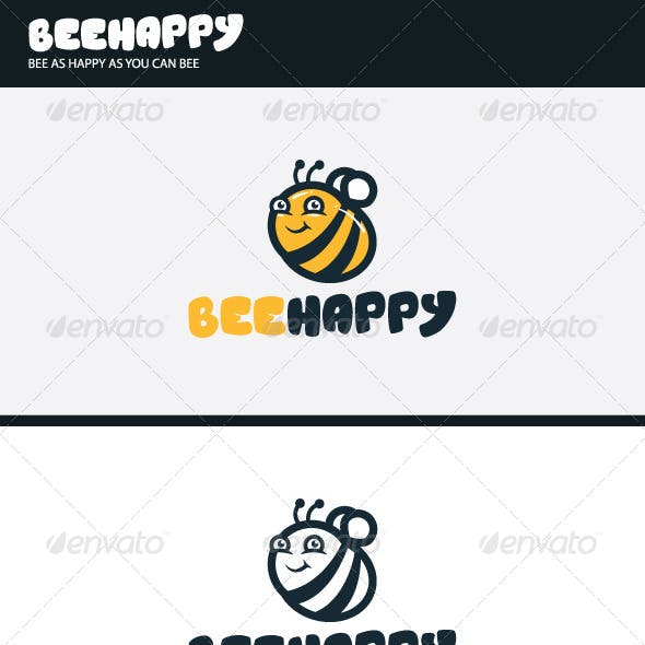 Bee Happy Logo