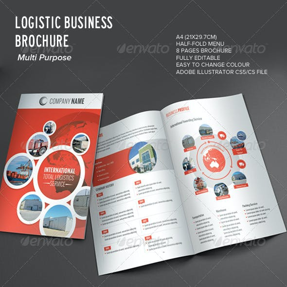Logistic Business Brochure