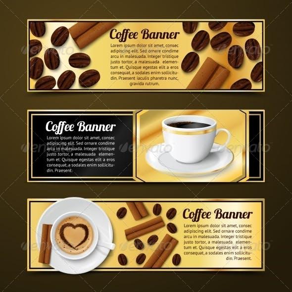 Coffee Banners Horizontal