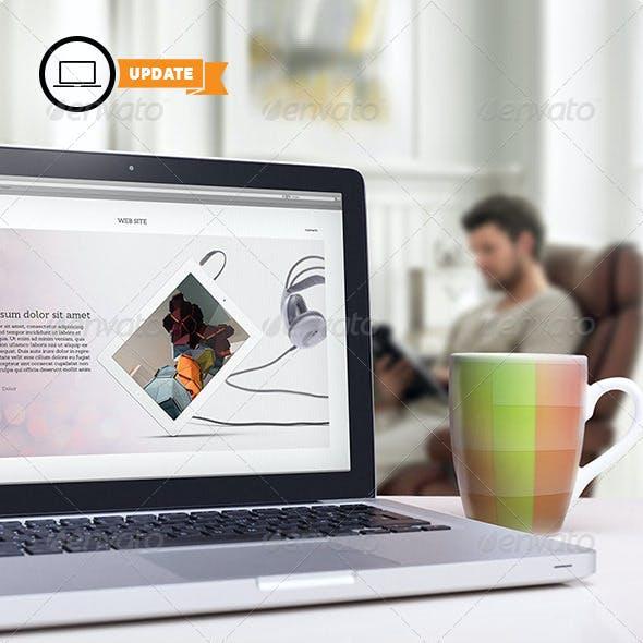 10 Laptop Mock-ups Vol.3