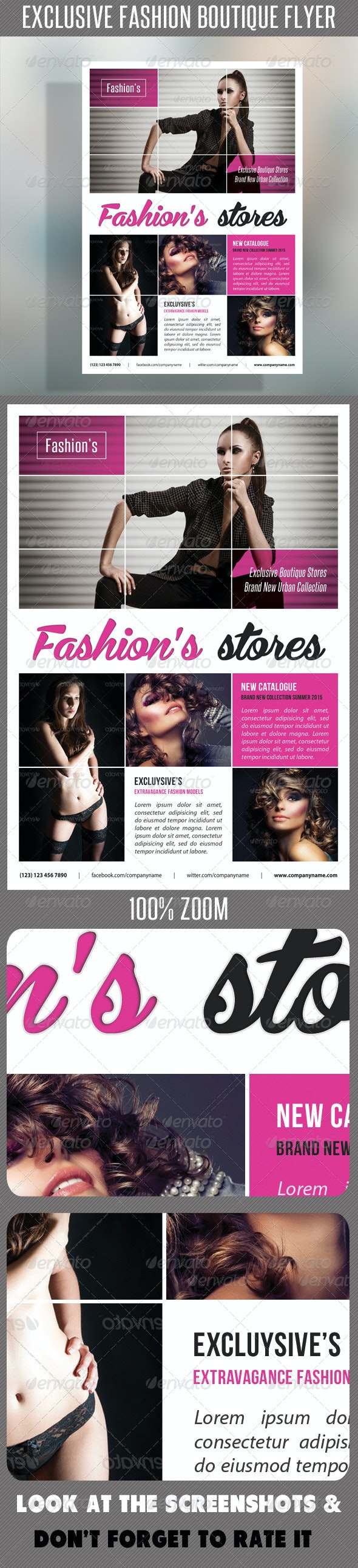 Fashion Product Flyer 56 - Events Flyers