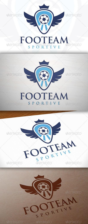 Football Team Crest Logo Template - Crests Logo Templates