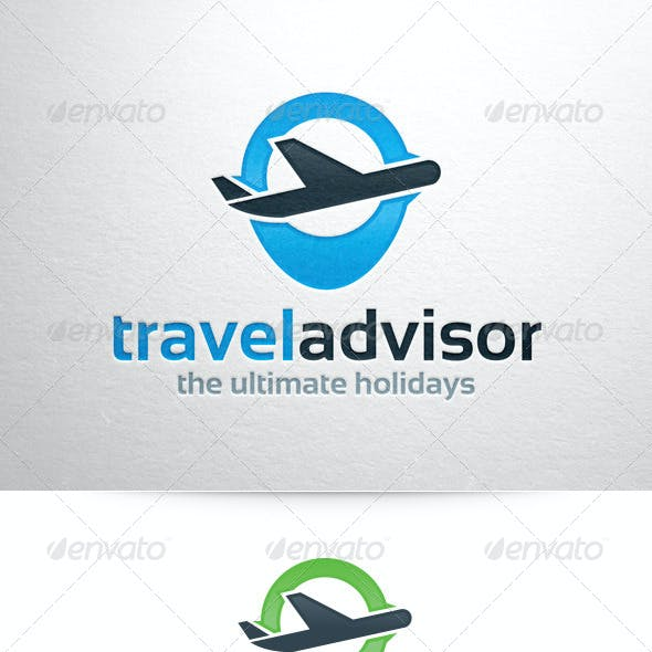 Travel Advisor Logo Template