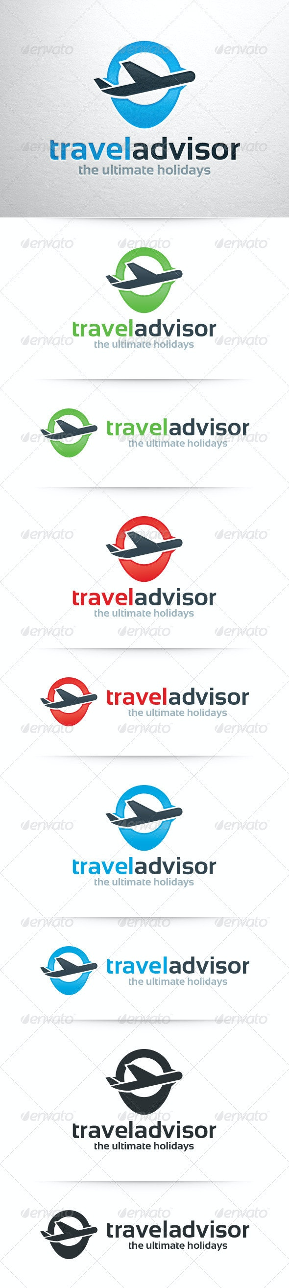 Travel Advisor Logo Template - Objects Logo Templates