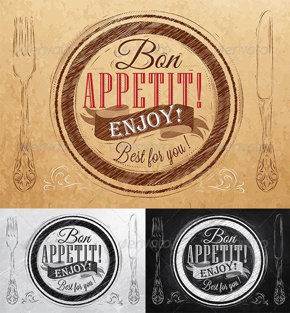 Bon Appetit - Food Objects