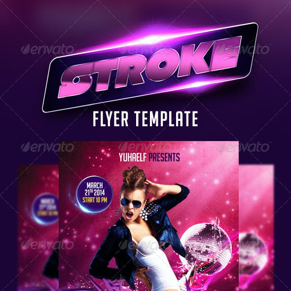 Stroke Flyer Template