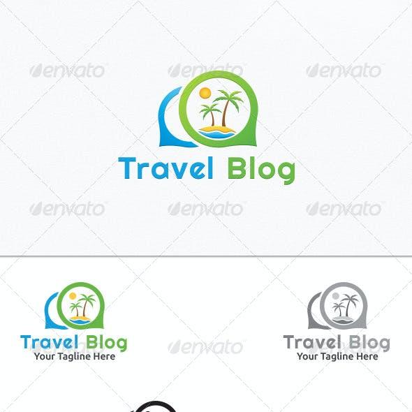 Travel Blog - Logo Template