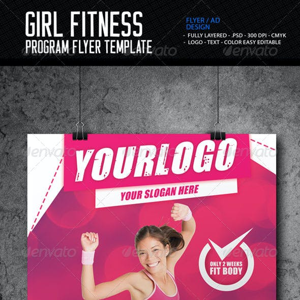 Fitness Program Flyer Template