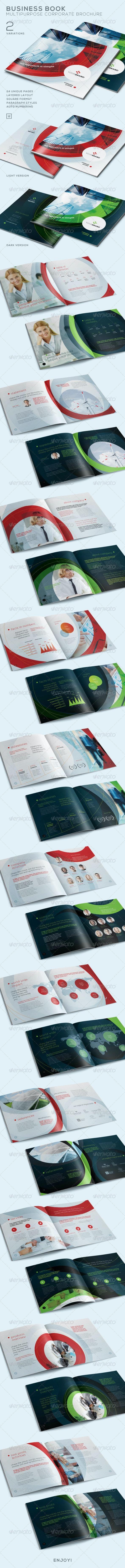 Business Book - Multi-Purpose Corporate Brochure - Corporate Brochures