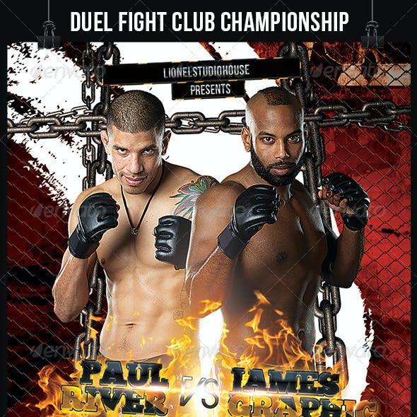 Duel Fight Club Championship Battle