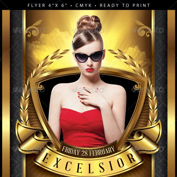 Excelsior (Flyer Template 4x6)