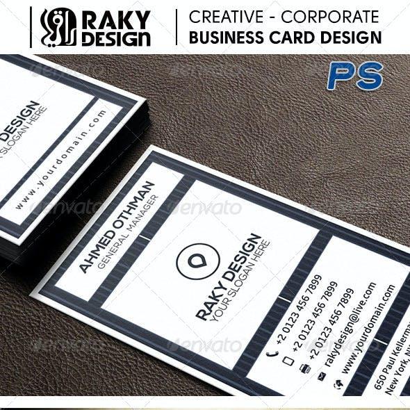 Retro Design Corporate Business Card 12