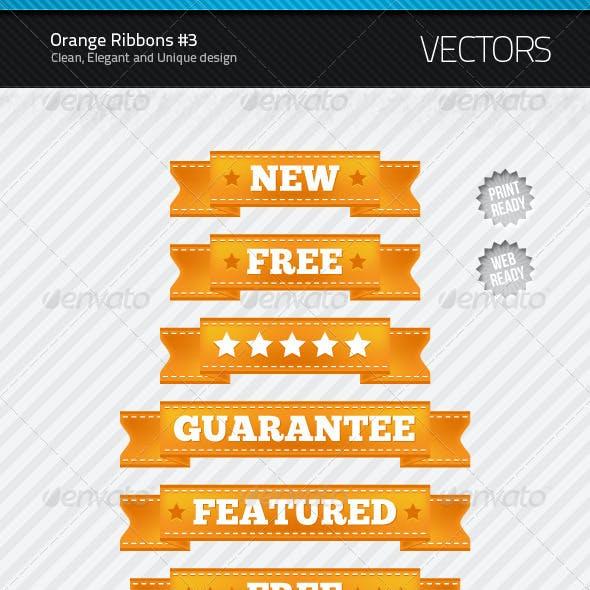 Orange Ribbons #3