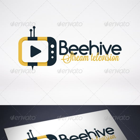 Bee Tv Logo Template