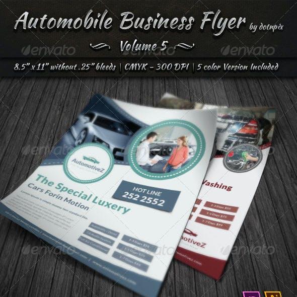 Automobile Business Flyer | Volume 5