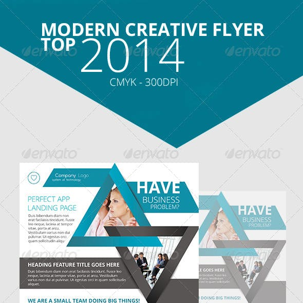 Modern Creative Flyer 2014