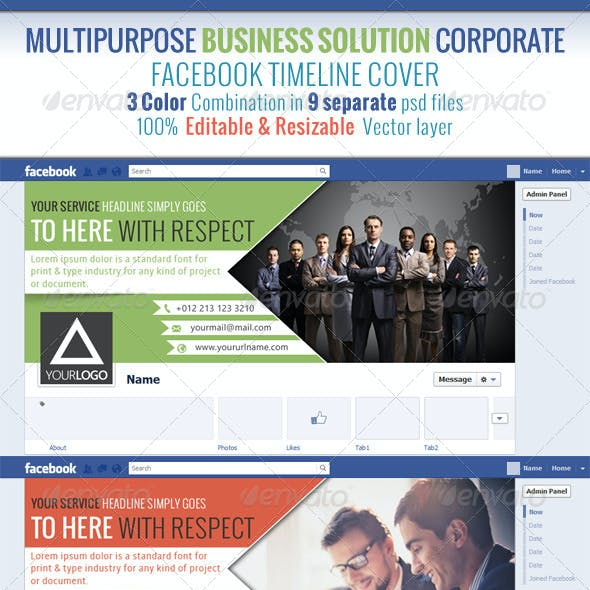 Multipurpose Business Solution Facebook Timeline