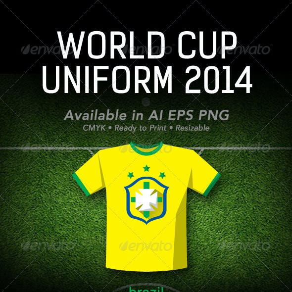 World Cup 2014 Uniform