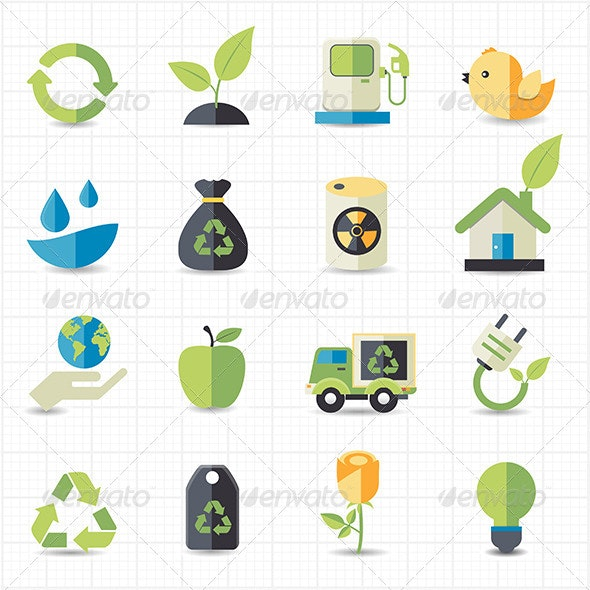 Environment Icons - Miscellaneous Characters