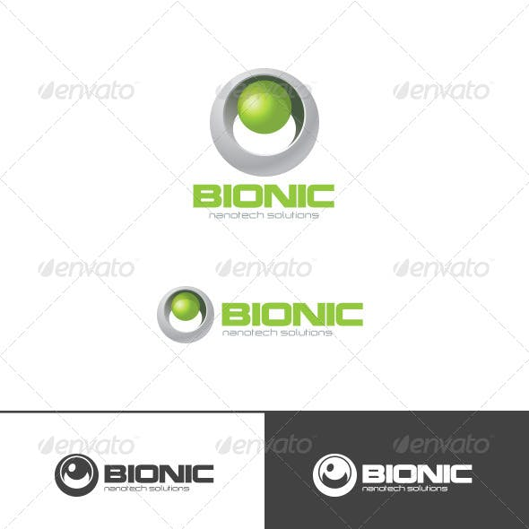Bio Technology Sphere Logo Abstract